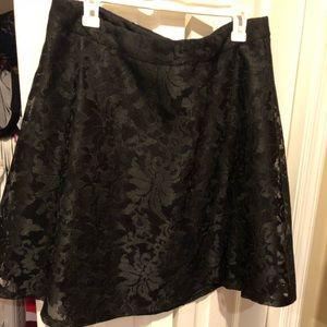 Forever21 floral print skirt